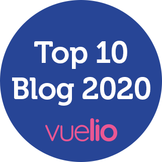 Vuelio Top 10 Blog 2020 Award
