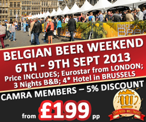 Beer Junkets (Belgian Beer Weekend 2013, Banner)