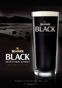 Black Scottish Stout , Belhaven