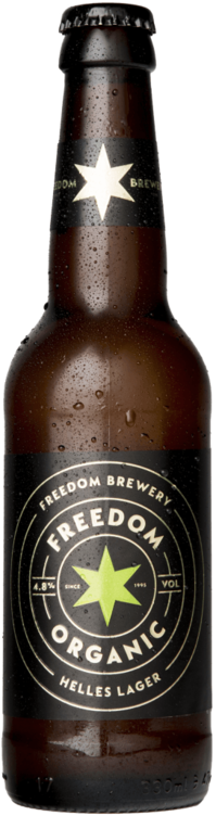 Freedom Organic Helles Lager, Freedom