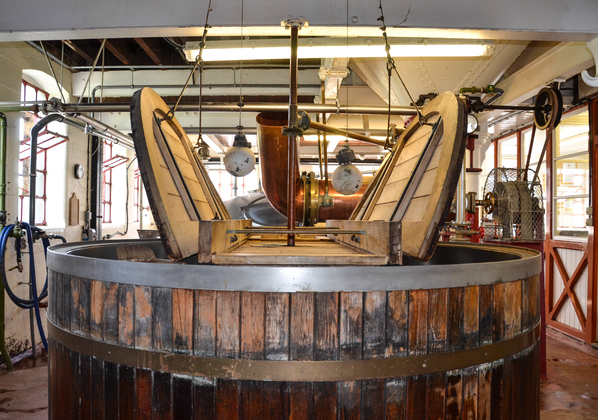 Hook Norton mash tun