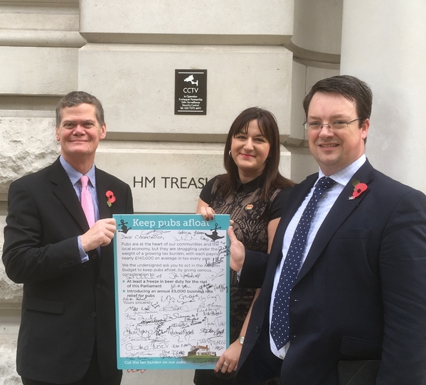 MPs petition
