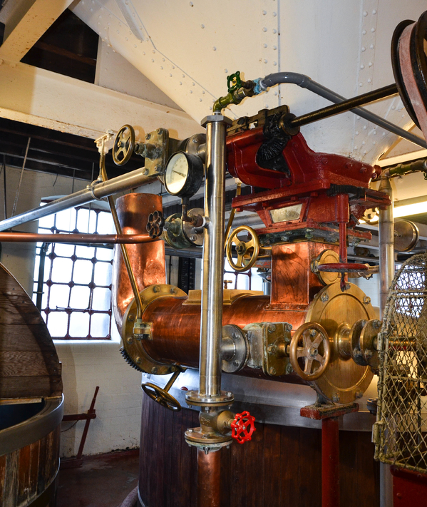 Hook Norton steam engine