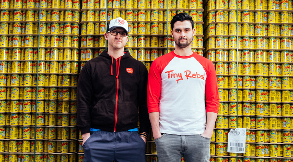 Tiny Rebel founders