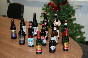 Scots beer is star of the Christmas tree