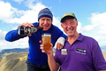 Alan Hinkes: up hill, down ale