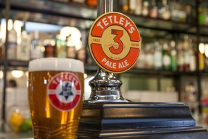 Tetley is back -- and brewed in Leeds