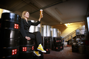 How Petra Wetzel went WEST to give Glaswegians a taste of real German beer