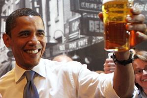 American home-brewers honour Obama