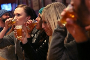 Liverpool ladies say 'Cheers' to beer