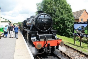 Going loco on a Hampshire steam line with great pubs and 3 breweries to visit